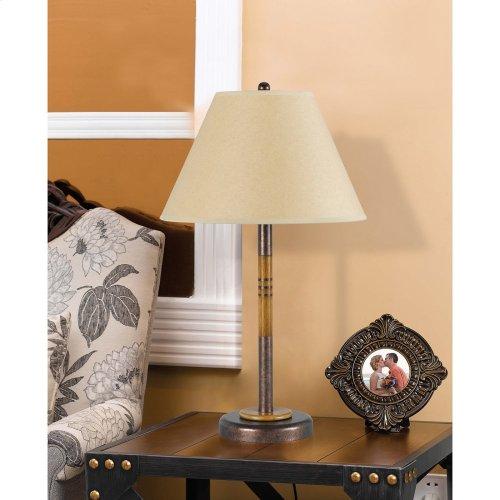 100W Soho Metal Table Lamp