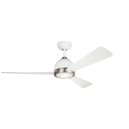 Incus Collection 56 inch Incus Fan LED WHT