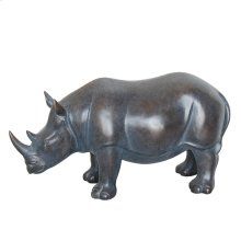 Bronze Resin Rhino