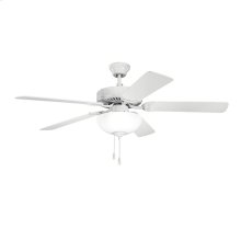 """52"""" Basics Select Collection 52 Inch Kichler Basics Select Ceiling Fan - WH"""