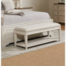 Hillside Bed End Bench - Feather