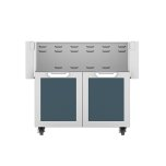 "Hestan36"" Hestan Outdoor Tower Cart with Double Doors - GCD Series - Pacific-fog"