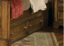 Rustic Under Bed Storage With Three Large Drawers