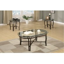 F3093 / Cat.19.p56- 3PCS COFFEE TABLE SET