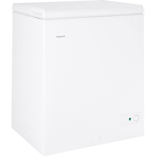 Hotpoint® 5.1 Cu. Ft. Manual Defrost Chest Freezer