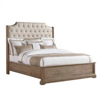 Wethersfield Estate-Upholstered Bed-Queen in Brimfield Oak