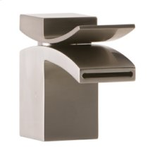 Lav Faucet, Front Flow - Brushed Nickel