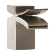 Lav Faucet, Front Flow - Brushed Nickel