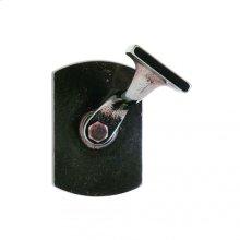 Curved Handrail Bracket Silicon Bronze Dark