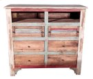 Multi COL.LOUVERED TV 6 Drawer Product Image