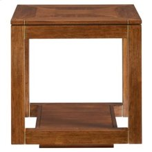 Panavista Floating Parsons End Table in Goldenrod