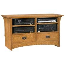 """Oak 50"""" TV Console"""