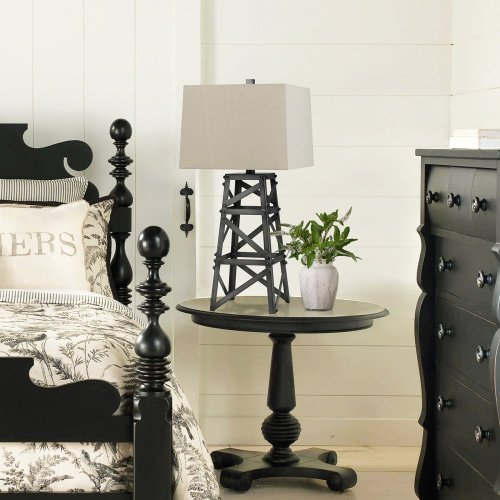150W Tower Metal Table Lamp