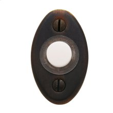 Distressed Venetian Bronze Oval Bell Button