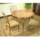Vintage Garden Leg Table Top & Base Product Image
