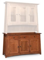 McCoy Hutch Base, McCoy Hutch Base, Large