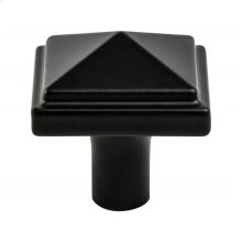 Rhapsody Black Pyramid Knob