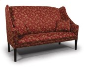 Sofa with Cherry Shaker Leg