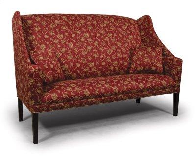 Sofa with Cherry Shaker Leg