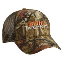Sport STIHL TIMBERSPORTS® with your favorite camo cap!