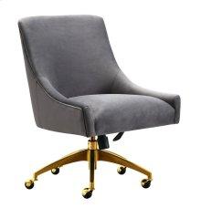 Beatrix Grey Office Swivel Chair