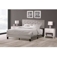 La Croix Bed In One - Full - Glacier Gray