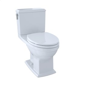 Connelly® Two-Piece Toilet 1.28 GPF & 0.9 GPF, Elongated Bowl - Cotton