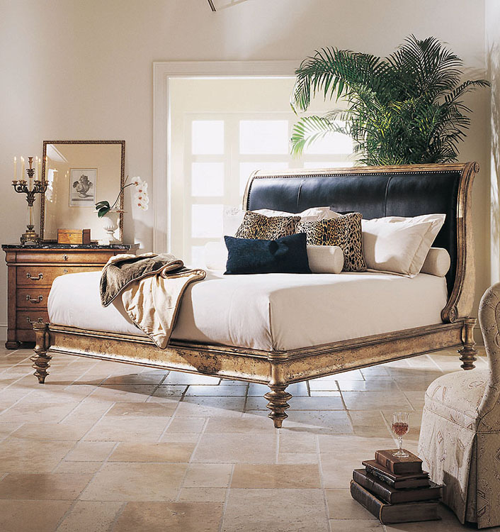599156 In By Century Furniture In Rogers, AR   Napoleon Bed With Upholstery  Standard King Size 6/6