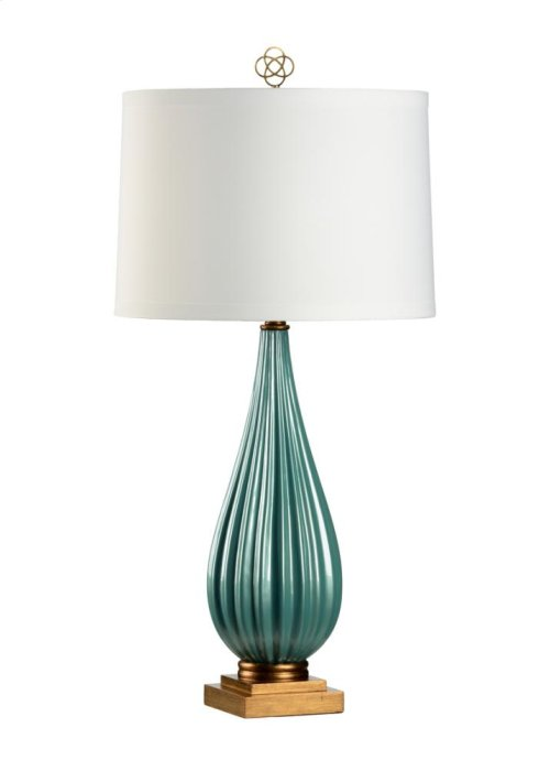 Bridget Lamp - Peacock