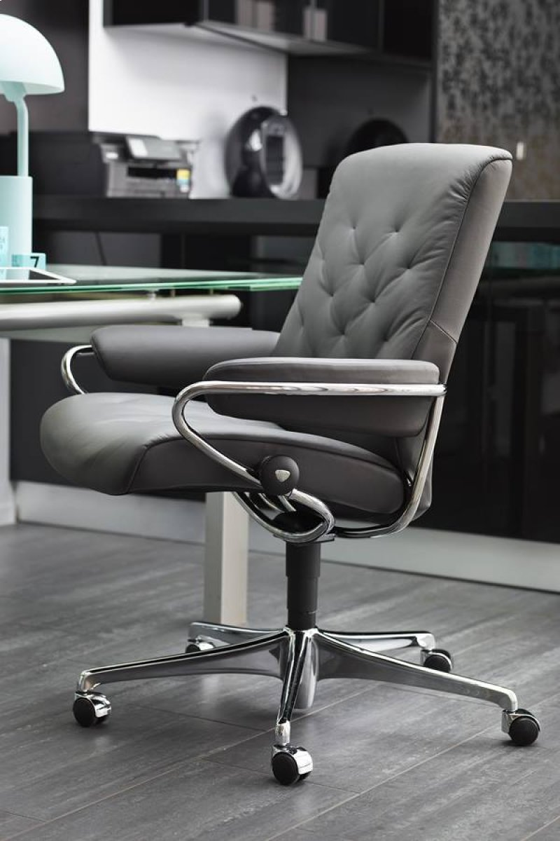 Stressless Metro Chair Low Back Standard Base In By Stressless By