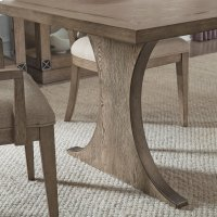 Academy Rectangular Dining Table Pillar Base Product Image