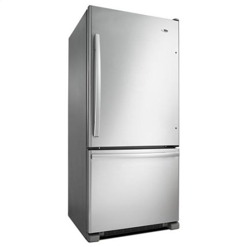 29-inch Wide Bottom-Freezer Refrigerator with EasyFreezer™ Pull-Out Drawer -- 18 cu. ft. Capacity - stainless steel