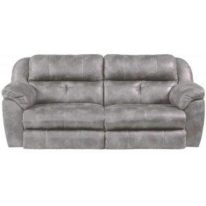Power Headrest w/ Lumbar Power Lay Flat Reclining Sofa