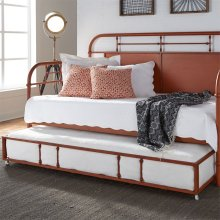 Twin Metal Trundle - Orange