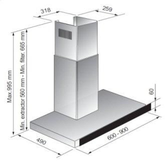 """30"""" GE Profile (TM) Range Hood"""