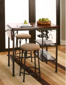 Sunset Trading 3pc Omni Drop Leaf Counter Height Dining Set