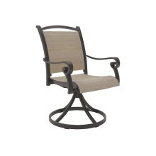 Sling Swivel Chair
