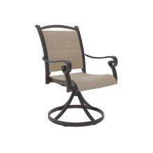 Sling Swivel Chair