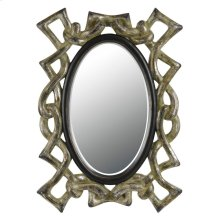 POPOLI RECTANGULAR PU BEVEL MIRROR