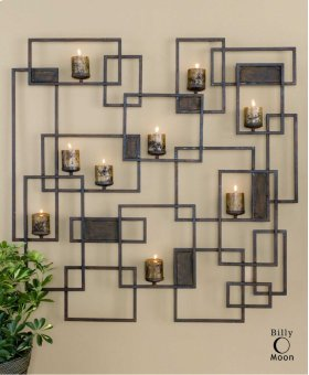Siam, Candlelight Wall Sculpture