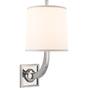 Visual Comfort BBL2025SS-S Barbara Barry Petal 1 Light 8 inch Soft Silver Decorative Wall Light