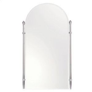 "Polished Brass 26"" x 38"" Large Framed Mirror"