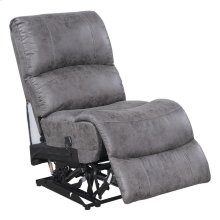 Armless Power Recliner-pu Charcoal