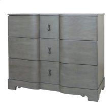 Hawthorne Estate Grey Wash Shaped Chest