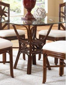 Havana Palm Indoor Rattan & Wicker Round Dining Table