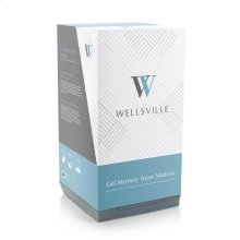 "Wellsville 8"" Gel Foam Mattress - Split Cal King"