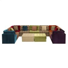 Lounge Sectional 4, 5, 11 pc