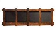 Four Panel Chalkboard