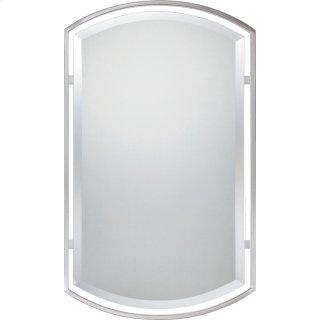 Breckenridge Mirror in Brushed Nickel