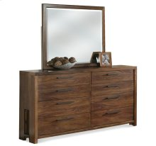 Terra Vista Eight Drawer Dresser Casual Walnut finish
